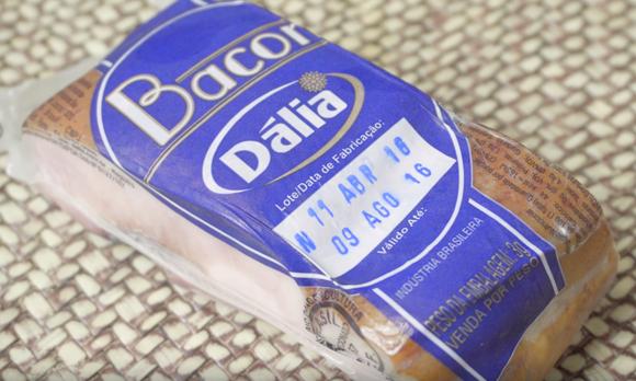 Bacon Dália!