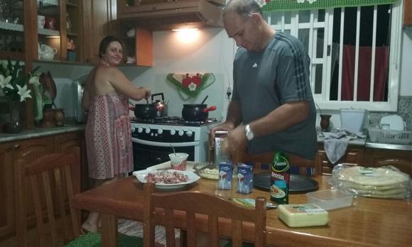 Treinamento Culinário na prática!