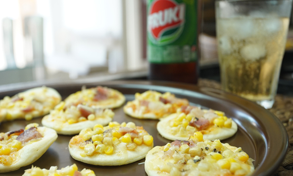 Mini pizzas no Micro-ondas!