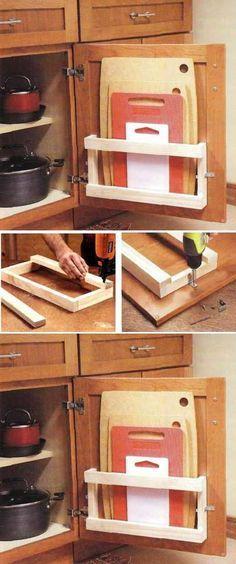 Inspirações para uma cozinha mais bonita e prática!