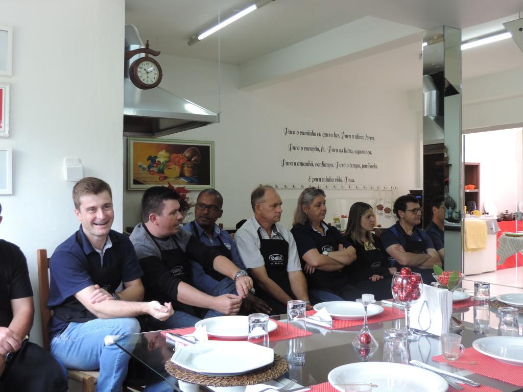 Treinamento Culinário na Cozinha da Cátia!