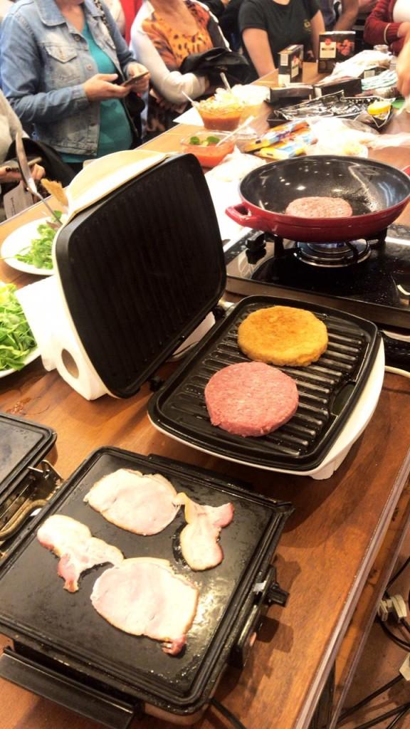 Como preparar um Hambúrguer?