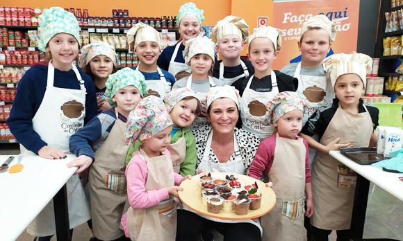 Dia das Crianças com oficina e Torta de Pote!